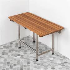 wall mounted shower bench products bathroom safety aids