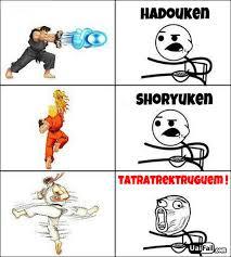 Hadouken Meme - shoryuken tatratrektruguem