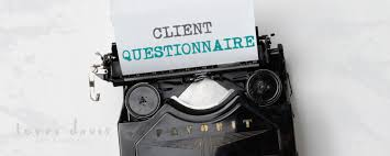 client questionnaire terri davis art u0026 design