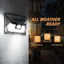 litom solar lights outdoor litom super bright solar light motion sensor light outdoor wall