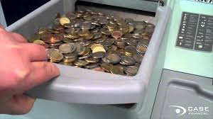 delarue talaris mach 9 coin counter u0026 sorter youtube