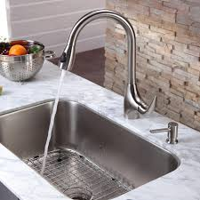 Moen Kitchen Faucet With Soap Dispenser by Swanstone Kitchen Sink Swanstone Dropin Kitchen Sink Via