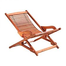 Chaise Lounge Reclining Chairs Outdoor Furniture Design Ideas Amazon Com Vifah V157 Outdoor Wood Folding Lounge Natural Wood