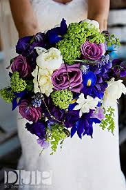 Wedding Flowers In October Ooooo Love The Vibrant Colors Purple And Blue Bridal Bouquets