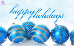 happy holiday blue greeting merry christma 10192 wallpaper