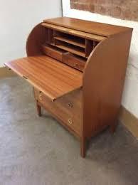 bureau retro roll top bureau furniture ebay