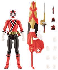 amazon power rangers samurai collector shinkenger red ranger