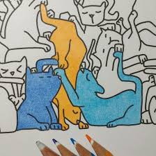 how to color with colored pencils the coloring book club
