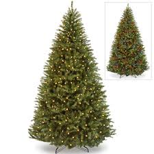 7ft Artificial Christmas Tree With Lights by Holiday Time Pre Lit 4 U0027 Indiana Spruce Black Artificial Christmas
