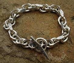 chain bracelet mens images Chunky mens silver chain bracelet love2have in the uk jpg