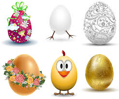easter eggs vector graphics art free download design ai eps