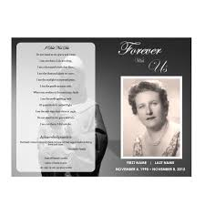 memorial service programs templates free memorial program funeral phlets