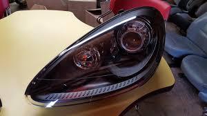 porsche cayenne headlights porsche cayenne 958 turbo gts black headlights rennlist