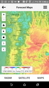Portland Map App by Cliff Mass Weather And Climate Blog Innovative New Weather App