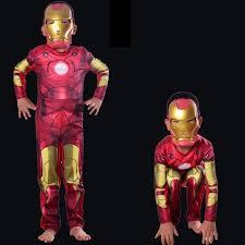 Iron Man Halloween Costume Toddler Aliexpress Buy Girls Boy Iron Man Halloween Kids Superhero