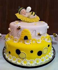 charming bee themed baby shower cakes 51 for your unique baby