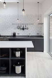 kitchen interior ideas best 25 kitchen interior ideas on hexagon tiles