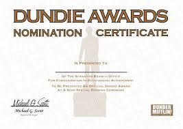 dundie award certificate template resume customer service bank