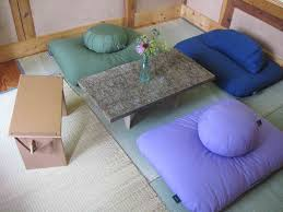 home accessories japanese floor cushions ideas with table vase