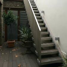 Narrow Staircase Design Metal Stair Exterior U2013 Brandonemrich Com