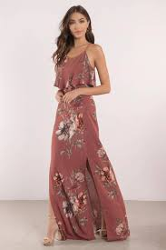 floral maxi dress madeline mauve floral maxi dress 102 tobi us