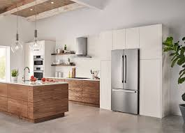 how to make cabinets appear taller 7 tips for achieving a built in refrigerator look on a