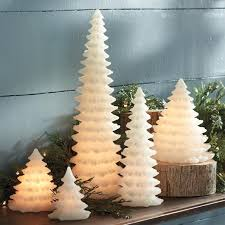 tree shaped led candle grandin road