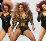 Beyonce Knowles Oops Flashes Her Bottoms Beyonce Knowles pussy