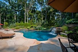 Inground Pool Patio Designs Complete Landscape Design U0026 Outdoor Living By New Jersey Company