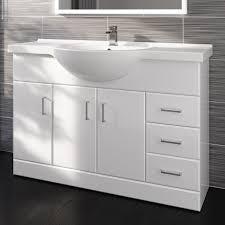 White Vanity Unit And Basin Bathroom Built Basin Cabinet U2022 Bathroom Cabinets