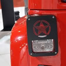 jeep wrangler brake light cover five star tail light cover trim protectors for jeep jk