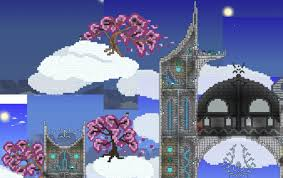 halloween town building background pc builds by khaios terraria community forums