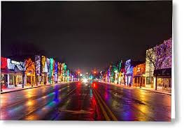 Rochester Michigan Christmas Lights by Rochester Christmas Light Display Photograph By Twenty Two North