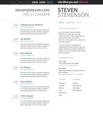 Best Resume Website Templates by Best Resume Templates Free Resume For Your Job Application