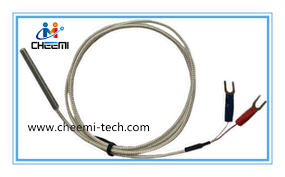 thermocouple pt100 rtd temperature sensor 2 3 wire with ce approval