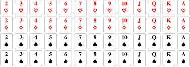 standard deck of 52 cards in curated data mathematica