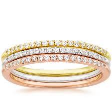 golden couple rings images Anniversary bands what you need to know brilliant earth jpg