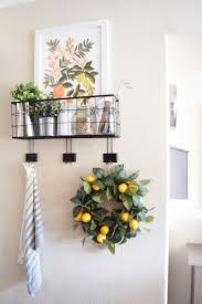 Ideas For Decorating Kitchen Walls Best 25 Lemon Kitchen Decor Ideas On Pinterest Lemon Kitchen