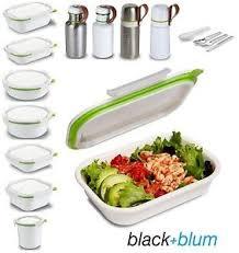 cuisine blum black blum box appetit lunch box pot square rectangle