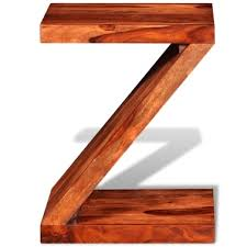 Z Shaped Side Table Buy Quality And Most Affordable Sheesham From Lovdock Com Buy