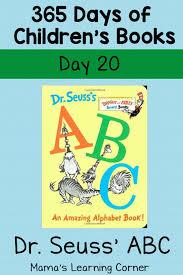 De Seuss Abc Read Aloud Alphabeth Book For Dr Seuss Abc An Amazing Alphabet Book Day 20 Mamas Learning