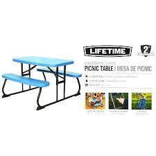 lifetime picnic table costco lifetime child picnic table medium size of club folding table