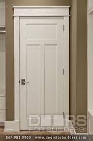Craftsman Closet Doors Craftsman Style Custom Interior Paint Grade Wood Door Custom