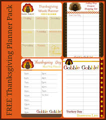 free thanksgiving planner printables thanksgiving planners and