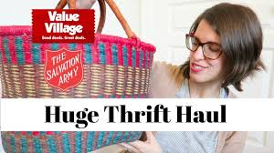 army home decor massive thrift haul salvation army value village thrifted