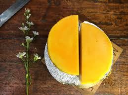 baked mango custard dessert recipe