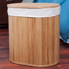 Clothes Hampers With Lids Lavish Home 82 1350d Bamboo Clothes Hamper With Lid And Removable