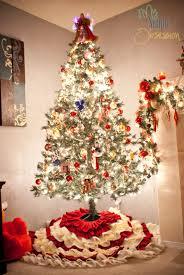 my simple obsession diy ruffled christmas tree skirt