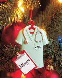scrubs ornament personalized for when i graduate nursing and