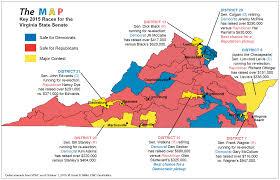 2016 Senate Election Map by The Map 2015 Virginia Senate Races The Nova Institute For